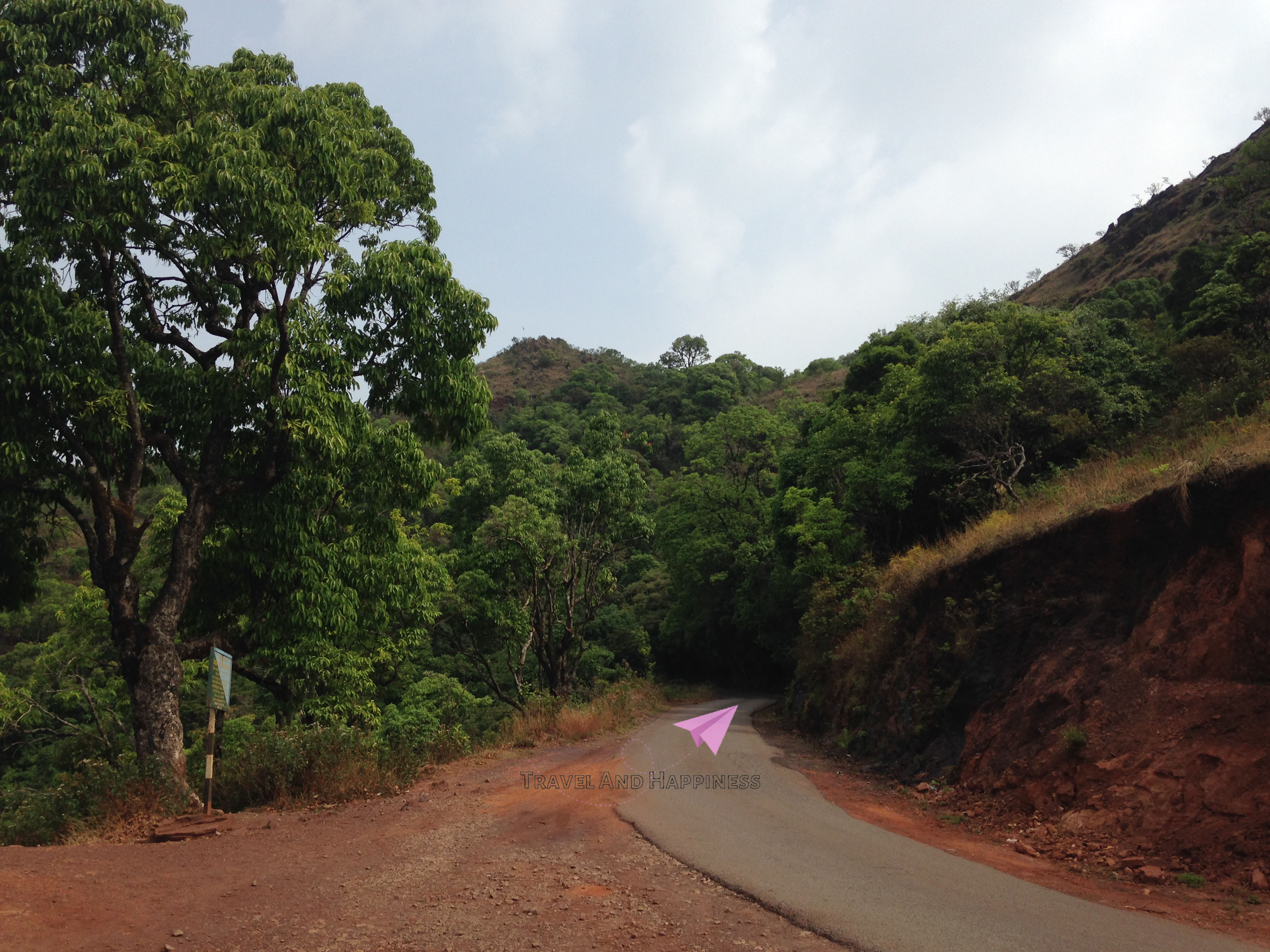 On the way to the mountains of western ghats