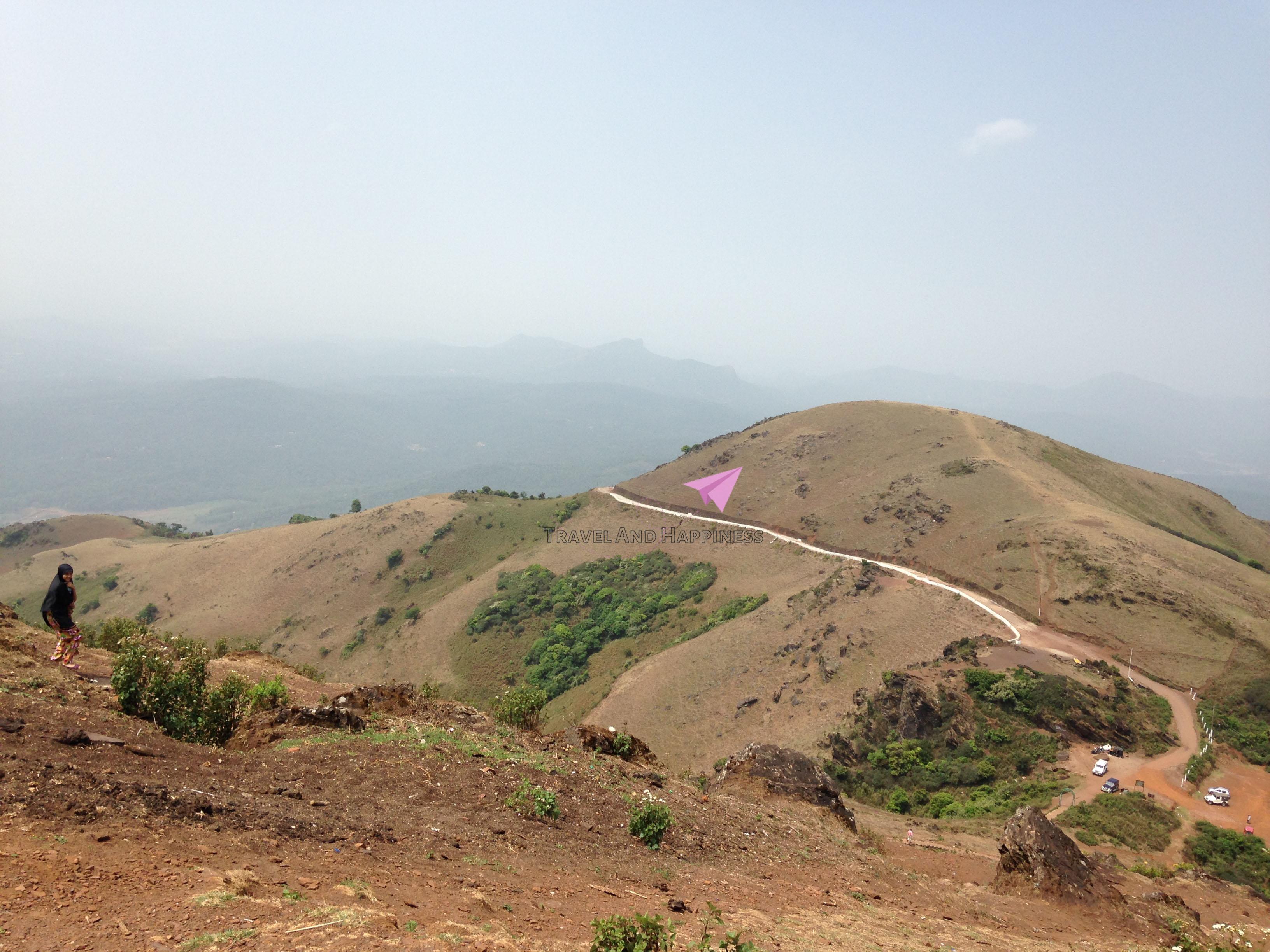 3. At the top Mullayyanagiri