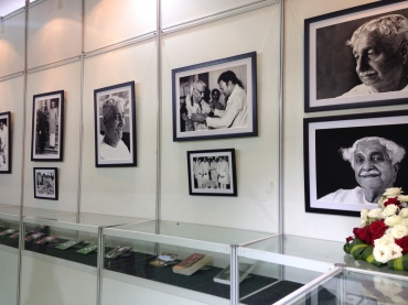 Snippets of Kuvempu's life, work displayed in a gallery