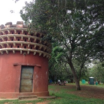 An interesting looking building inside Lalbagh
