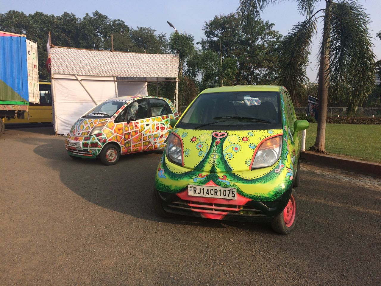 Art Festival Car Paintings