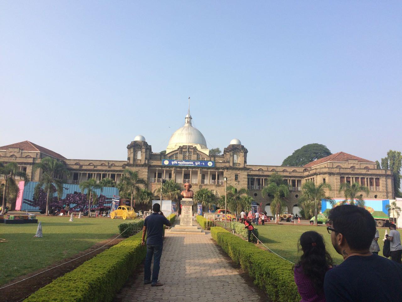 Agriculture college campus, Pune
