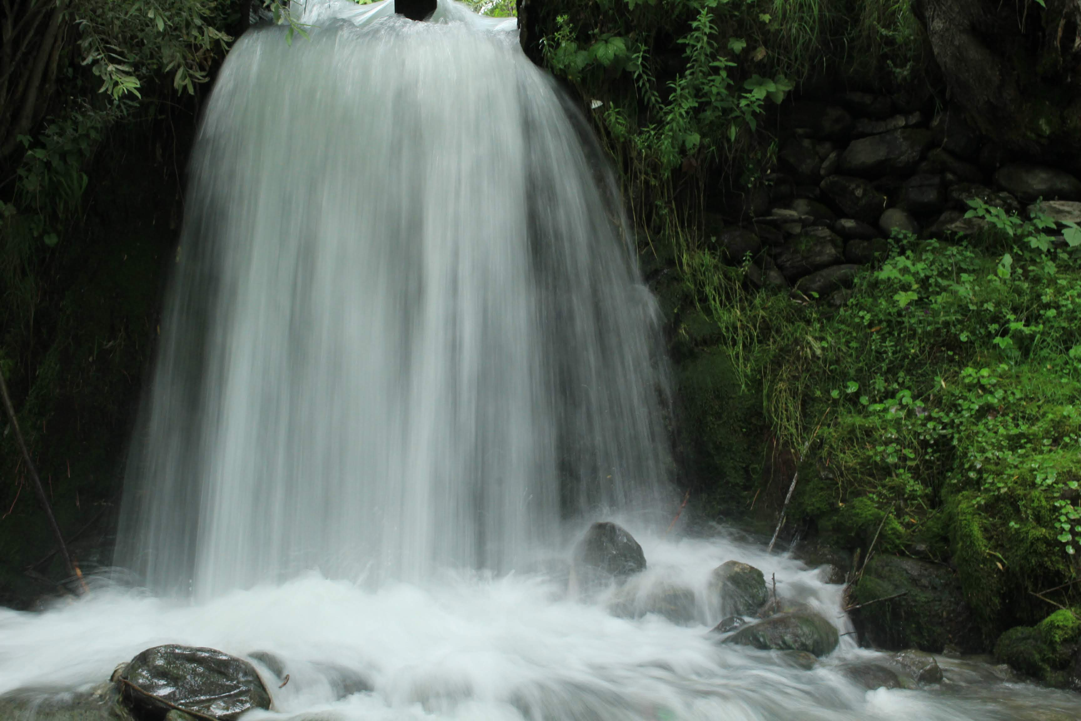 Waterfall near Lidder in Pahalgam