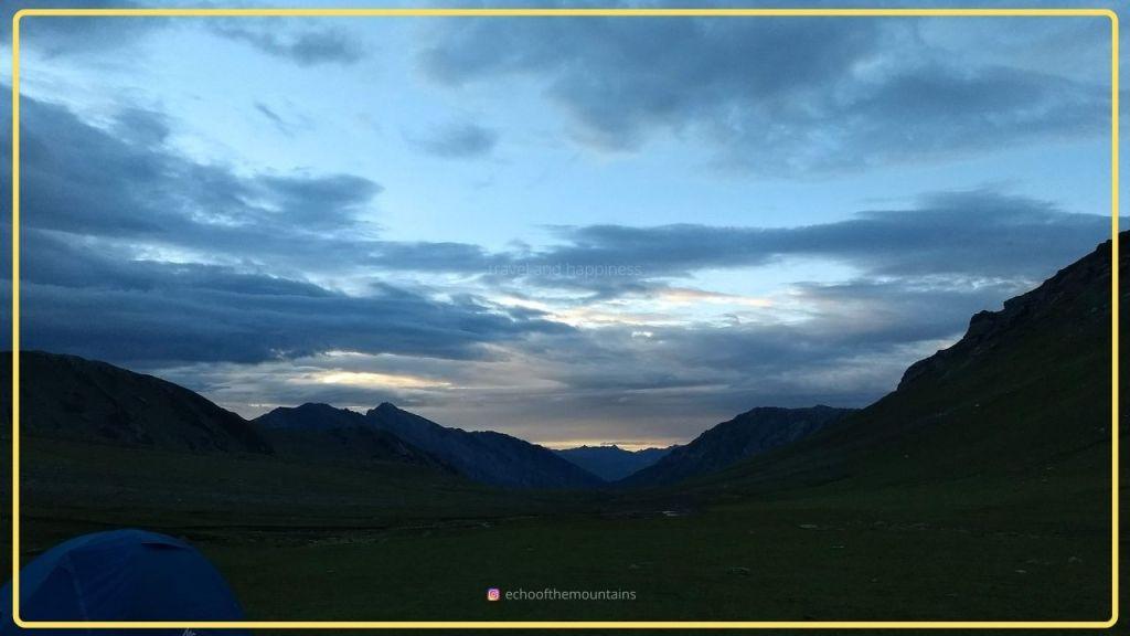 Himalayan mountains in Kashmir